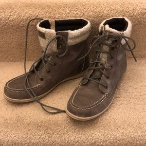 Sperry High Top Boat Shoes